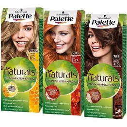 Palette Naturals  Боя за коса
