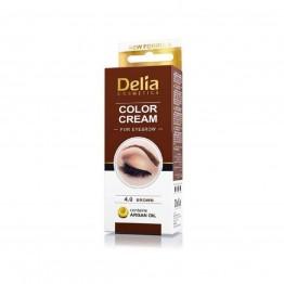 Color Cream за вежди - Кафяв
