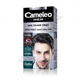Cameleo Боя за коса за мъже - 3.0 Тъмно кафяво