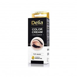 Color Cream за вежди - Черно
