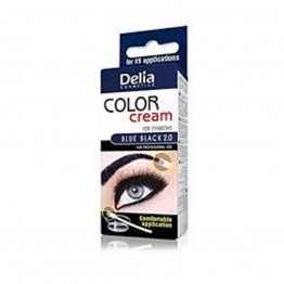 Color Cream за вежди - Синьо черно