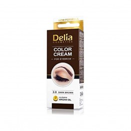 Color Cream за вежди - Тъмно кафяво