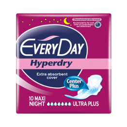Every Day Hyperdry Дамски превръзки Maxi night - 10бр.