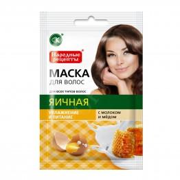 Fito cosmetic Маска за Коса Народни Рецепти с Яйце 30мл