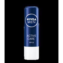 Nivea Active Care Балсам за устни - мъже