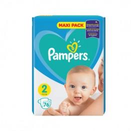 Pampers Бебешки памперси VPP s2 Mini  (4-8кг)-76бр.
