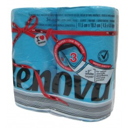 Renova Тоалетна хартия - Синя