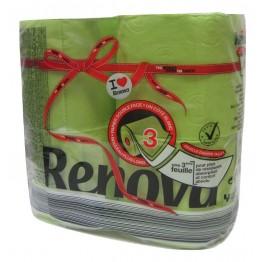 Renova Тоалетна хартия - Зелена