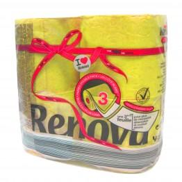 Renova Тоалетна хартия - Жълта