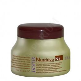 Silkat Nutritivo N3 Подхранваща маска за Суха и Увредена коса 250мл.