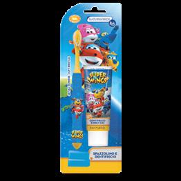 Super Wings Комплект Детска четка и паста за зъби