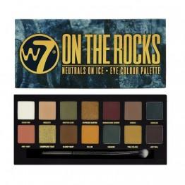 W7 On The Rocks Сенки за Очи 14 Цвята
