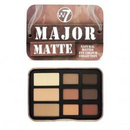 W7 Major Matte Сенки за Очи 9 Цвята