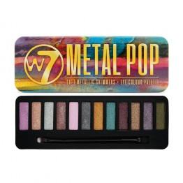 W7 Metal Pop Сенки за Очи 12 Цвята