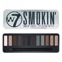 W7 Smokin'  Сенки за Очи 12 Цвята