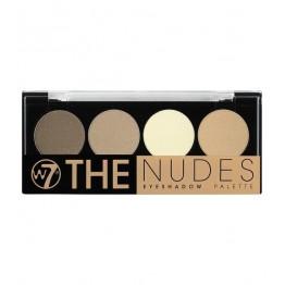 W7 The Nudes Сенки за Очи 4 Цвята